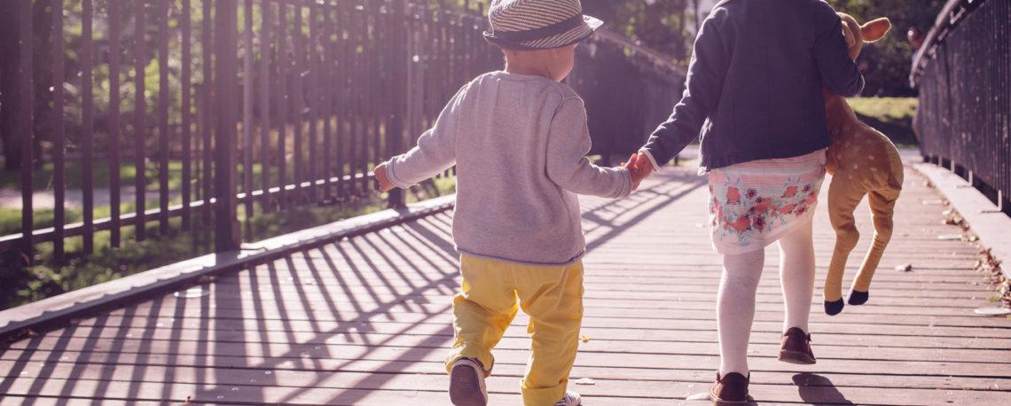 Poemitas.org - Niños en puente